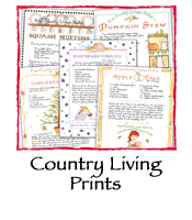 Country Living Prints