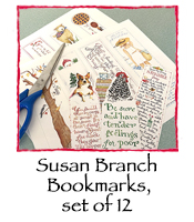 Cut Your Own Book Marks, set of 12