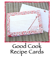 Good Cook Recipe Cards