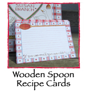 Wooden Spoon Recipe Cards