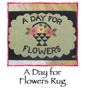 A Day for Flowers Rug