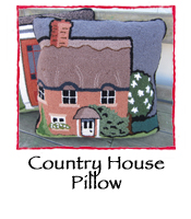 Country House Pillow