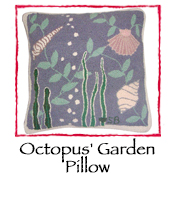 Octopus' Garden Pillow