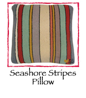 Seashore Stripes Pillow