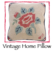 Vintage Home Pillow