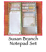 Mini Notepad Set by Susan Branch