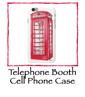 Telephone Booth Cell Phone Case