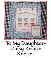 To My Daughter- Daisy Recipe Keeper