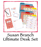Susan Branch Ultimate Desk Set