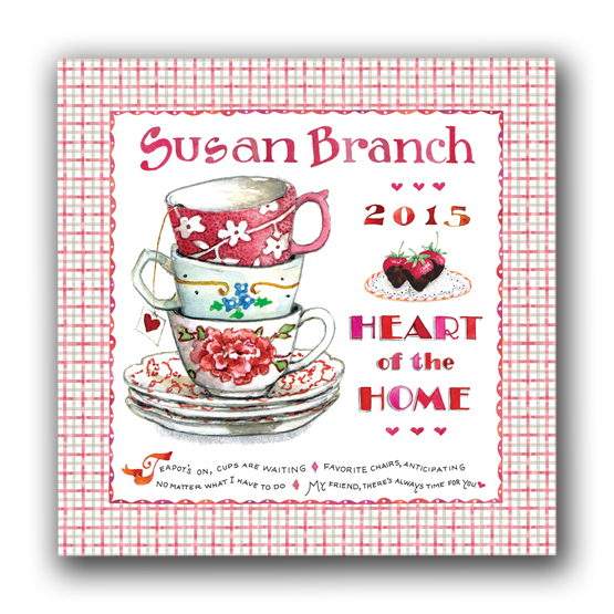 2015 Heart of the Home Wall Calendar