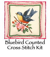 Bluebird Counted Cross Stitch Kit
