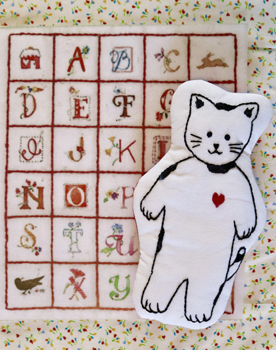 Jack Kitty and Doll Quilt Kit