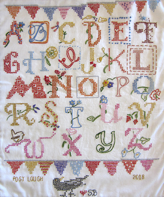 Alphabet Sampler Embroidery Kit