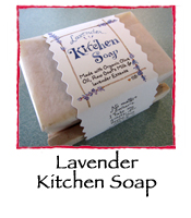 Lavender Kitchen Soap