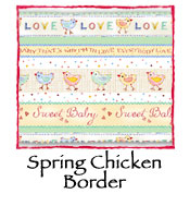 Spring Chicken Border