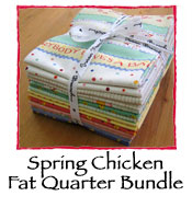 Spring Chicken Fat Quarter Bundle