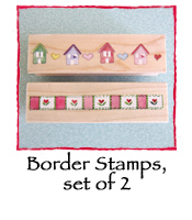 Border Stamps, set of 2