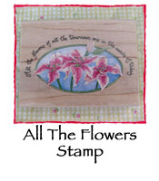 All the Flowers Stamp