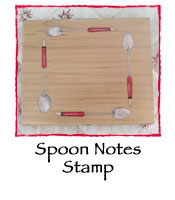 Spoon Notes Stamp