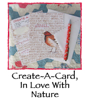 Create-A-Card, In Love With Nature