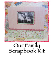 Our Family Scrapbook Kit, Vintage Susan Branch