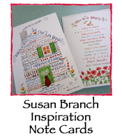 Susan Branch Inspiration Note Cards