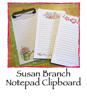 Susan Branch Notepad Clipboard
