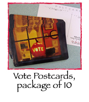 Vote Post Cards, set of 10