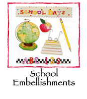 School Embellishments 3-pack