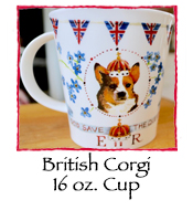 British Corgi 16 oz. Cup