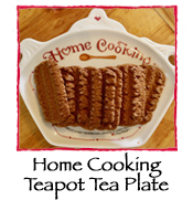 Home Cooking Teapot Tea Plate