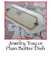 Jewelry Tray or Butter Dish