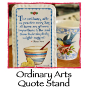 Ordinary Arts Quote Stand