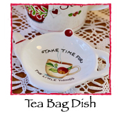 Little Things Tea Bag Dish