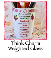 Think Charm Weighted Glass