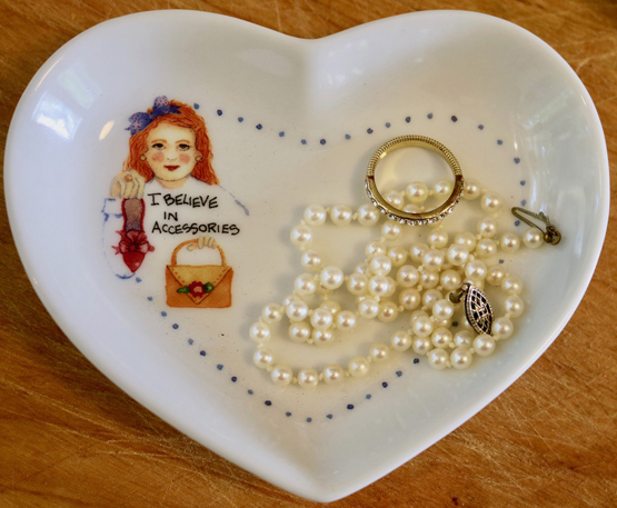 Accessories Heart-Shaped Dish
