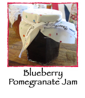 Blueberry Pomegranate Jam