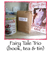 Fairy Tale Trio: book, tea & tin