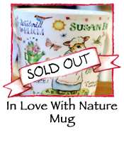 Nature Mug by Susan Branch