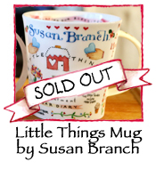 Little Things Mug by Susan Branch