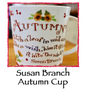 Autumn Cup by Susan Branch