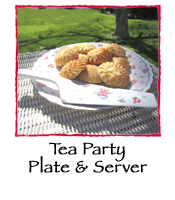 Tea Party Plate & Server