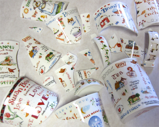 Fine Bone China Pieces for Crafting