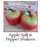 Apple Salt & Pepper Shakers