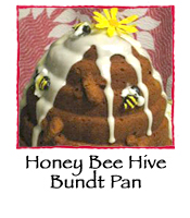 Honey Bee Hive Bundt Pan