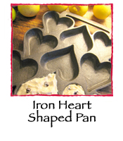 Iron Heart Shaped Pan