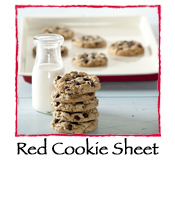 Red Cookie Sheet