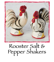Rooster Salt & Pepper Shakers