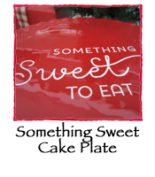 Something Sweet Cake Plate