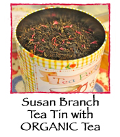 Susan Branch Tin with ORGANIC Tea